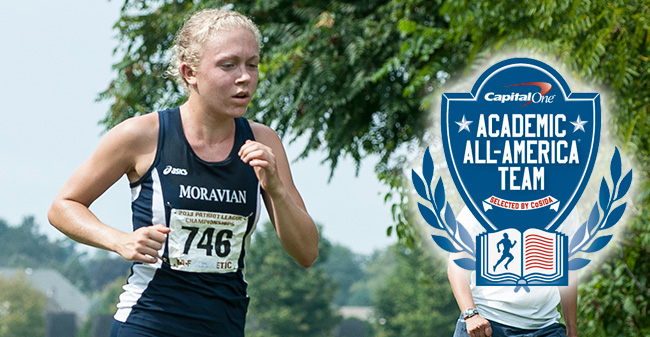 Lambright Named to Capital One Academic All-America Second Team for DIII Women's Cross Country & Track & Field