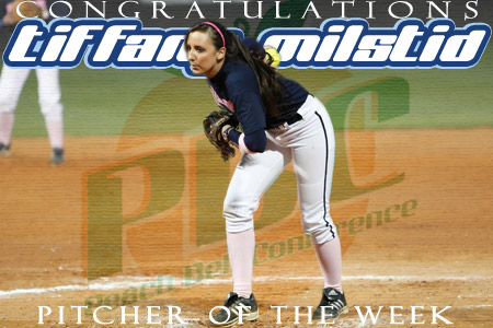 Milstid earns PBC Pitcher of the Week honors