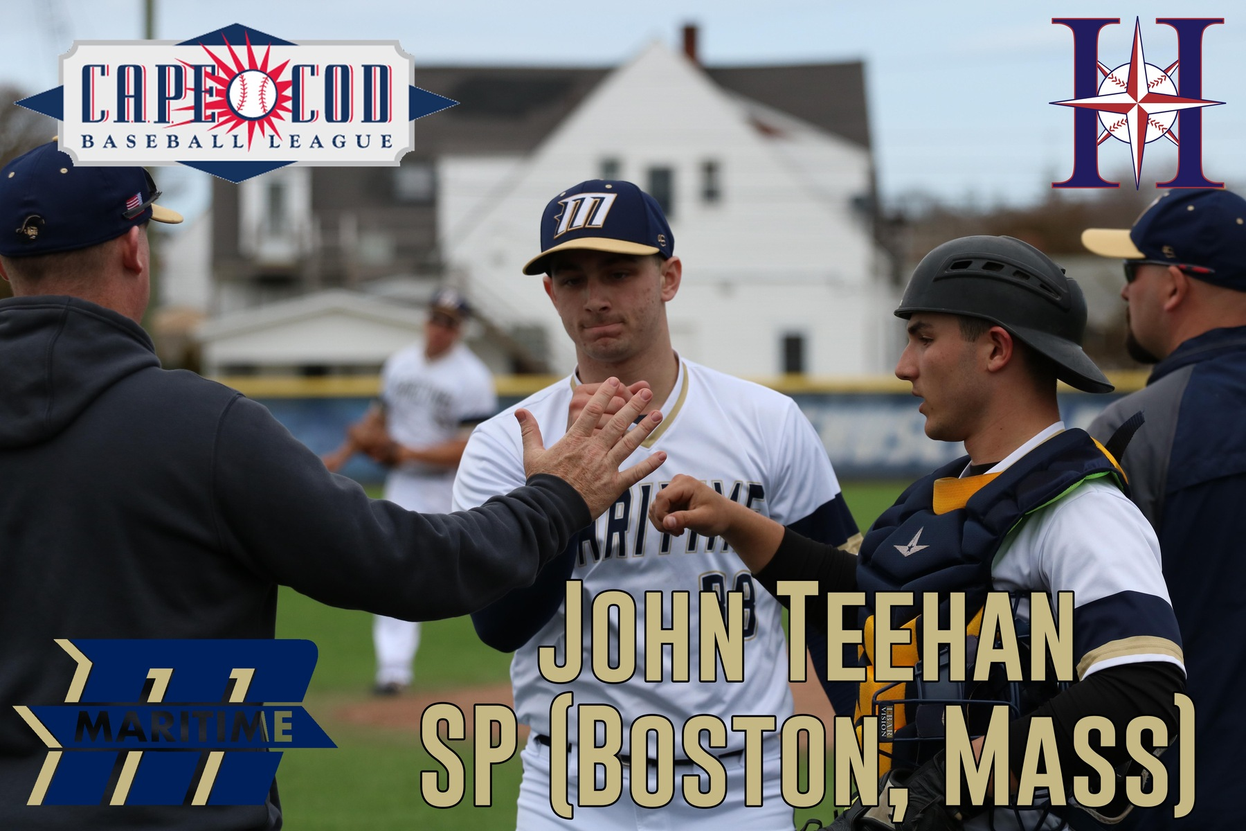 Teehan Signs with Harwich Mariners of Cape League