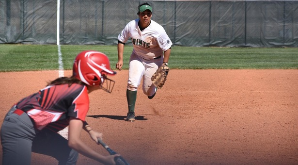 Lady Saints sweep Northwest Tech and win suspended game