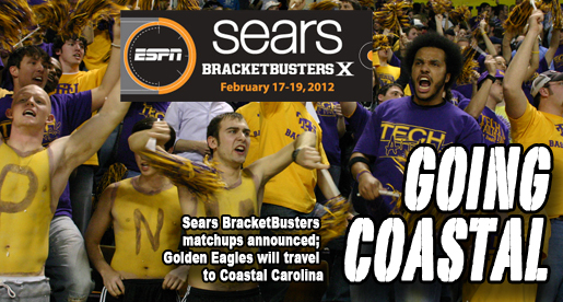 Golden Eagles draw Coastal Carolina in Sears BracketBusters