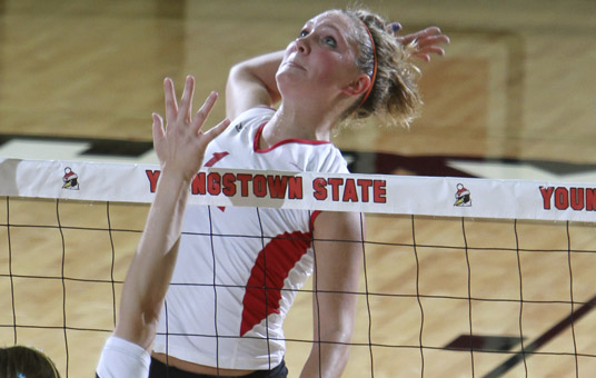 2010 YSU Women's Volleyball