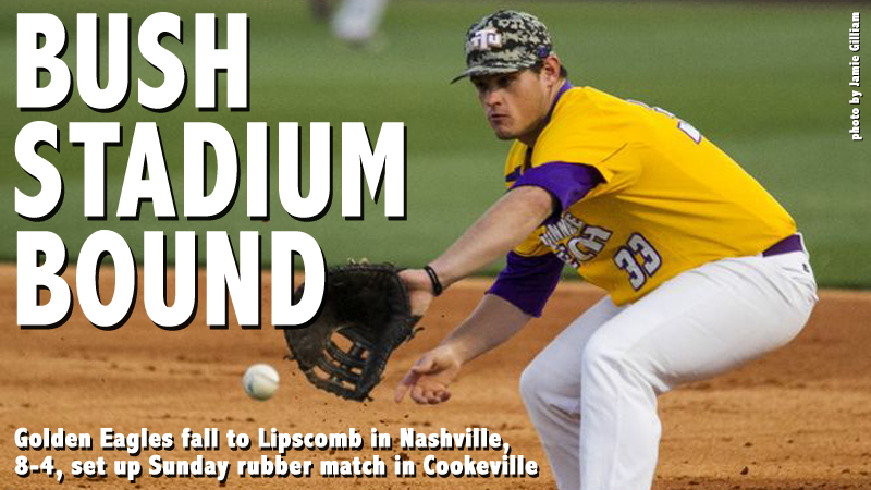 Lipscomb evens weekend series, downs Golden Eagles, 8-4, in Nashville