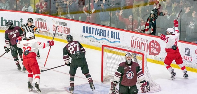 Cornell routs Union, forces a deciding Game 3