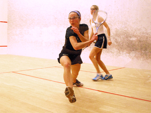 Women's squash falls to #19 Amherst