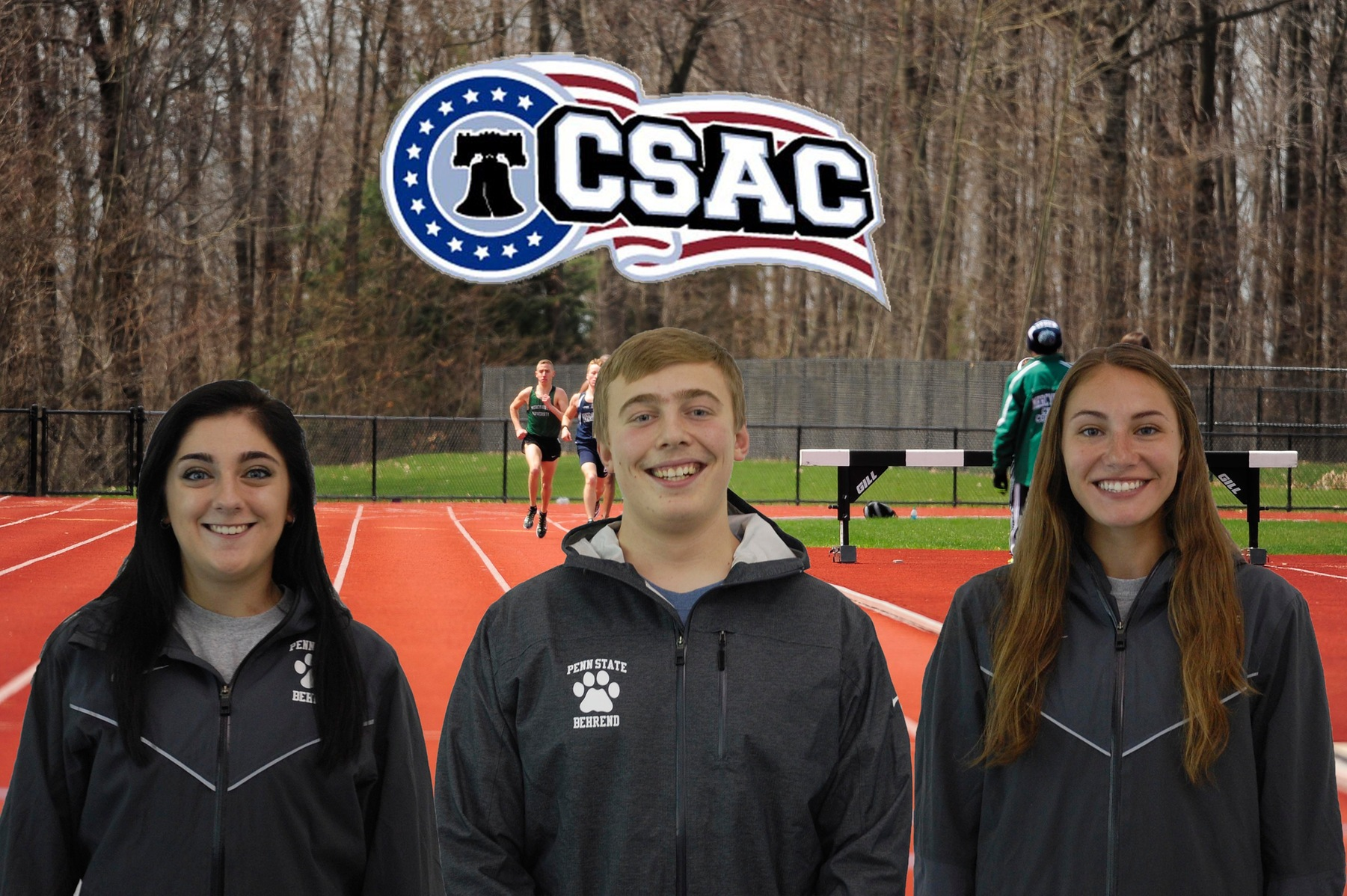 Three Named CSAC Athletes of the Week