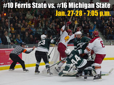 Hockey Notes: Ferris State vs. Michigan State