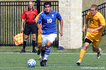 Falcons whip Lakeland 4-0 in men's soccer
