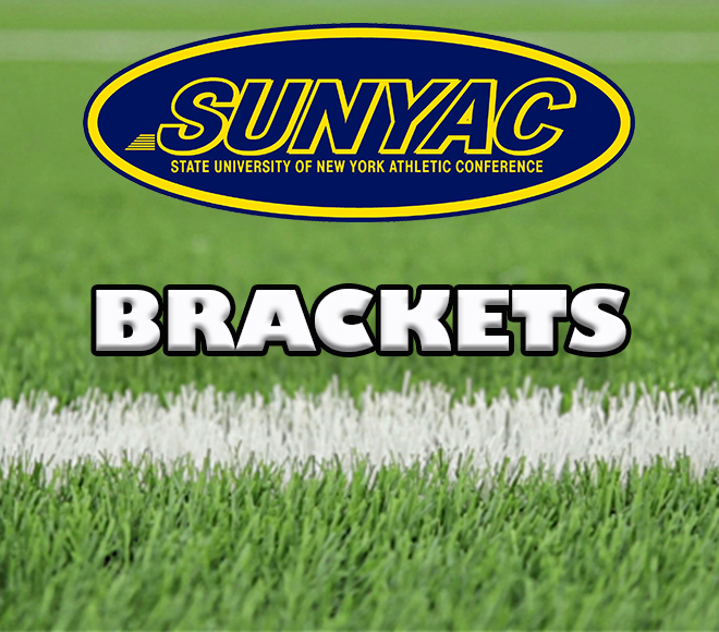 2017 SUNYAC fall brackets set