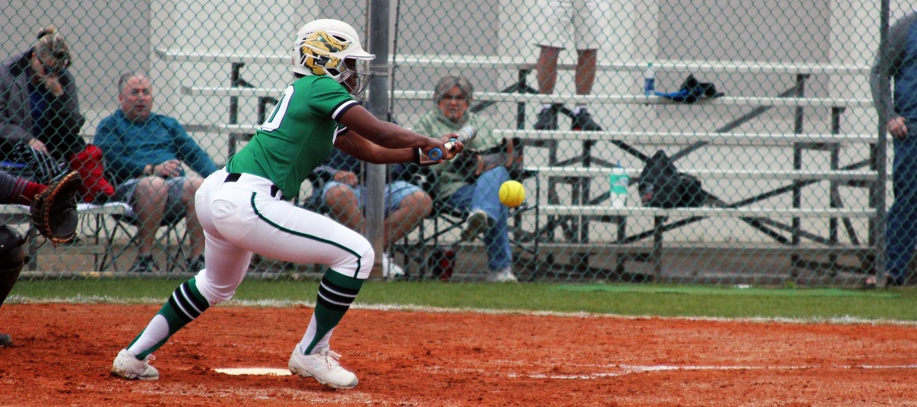 Copyright 2019; Wilmington University. All rights reserved. Photo of Rosa'Lynn Burton who had three hits in game one at Florida Tech. Photo by Mary Kate Rumbaugh March 5, 2019 at No. 9 Florida Tech.