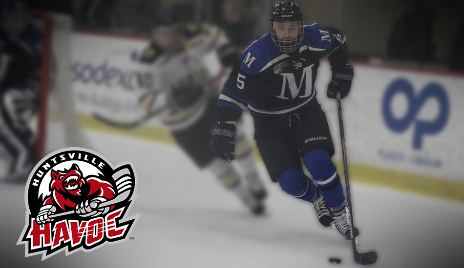 Perl signs professional contract with Huntsville Havoc