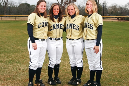 Long Ball Lifts Lady Canes on Senior Day