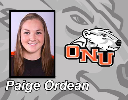 Paige Ordean fires perfect game; Softball picks up wins over Regis (Mass.) and St. Mary's (Minn.)