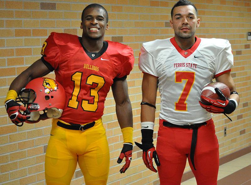 Ferris State Football Unveils New Uniforms Ferris State Bulldogs