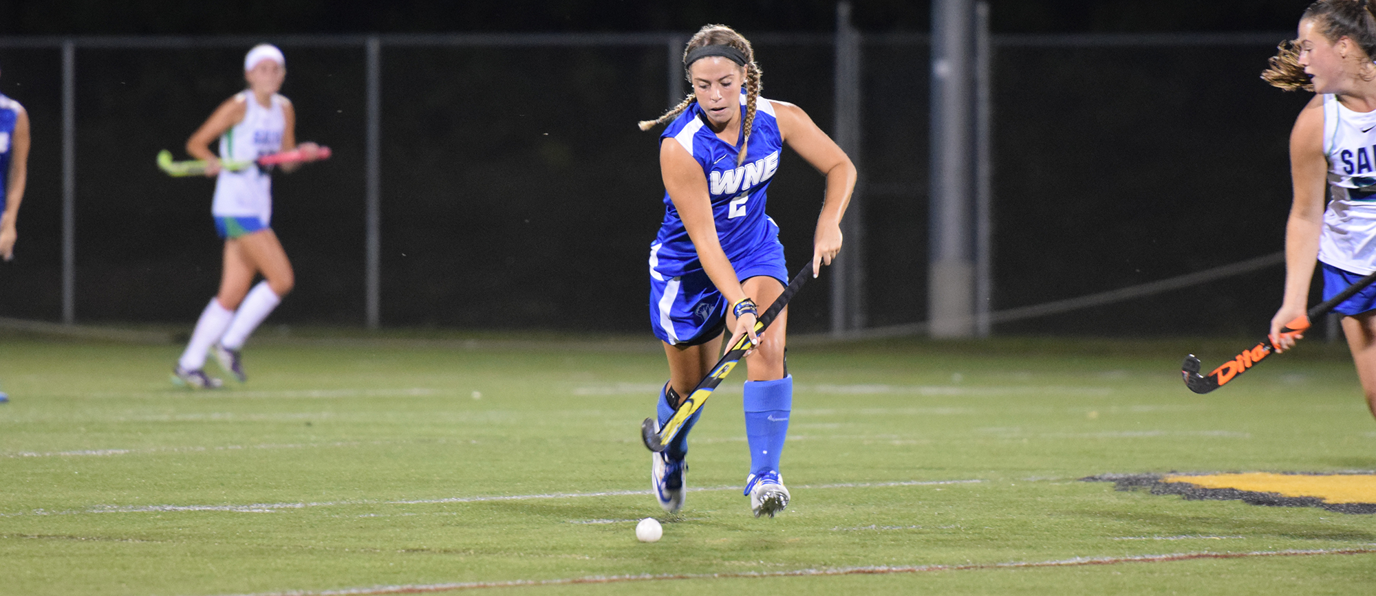 Senior forward Brittany DeLima scored the game-winning goal in overtime as Western New England defeated Roger Williams 3-2 on Tuesday night.