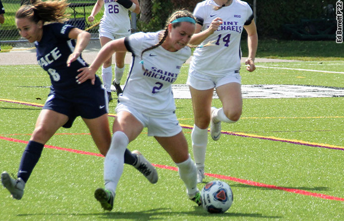 Ruprecht's Goal Lifts Women's Soccer to 1-1 Tie at Regionally-Ranked Saint Anselm