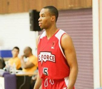Devon Young as a member of the IBL's Jersey G-Force. (Photo by T.L. Green Photography.)
