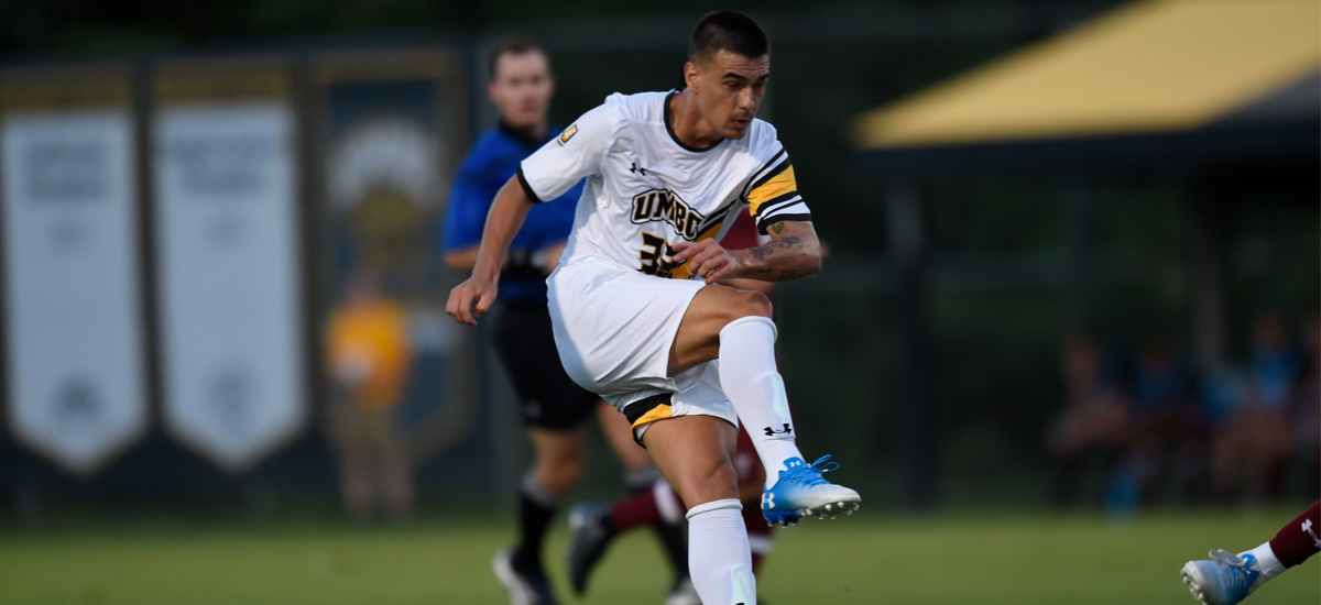 Marconi Scores Late, UMBC Defeats Hartford 1-0 on #UMBCHomecoming