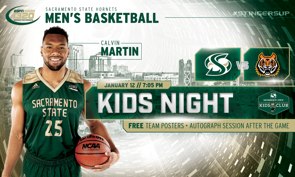 MEN'S HOOPS HOSTS IDAHO STATE ON SATURDAY FOR KIDS NIGHT