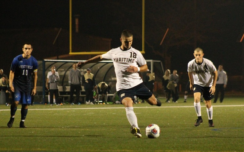 Haynes, Crawford Net Goals As Men's Soccer Drops 3-2 MASCAC Semifinal Decision To Westfield State