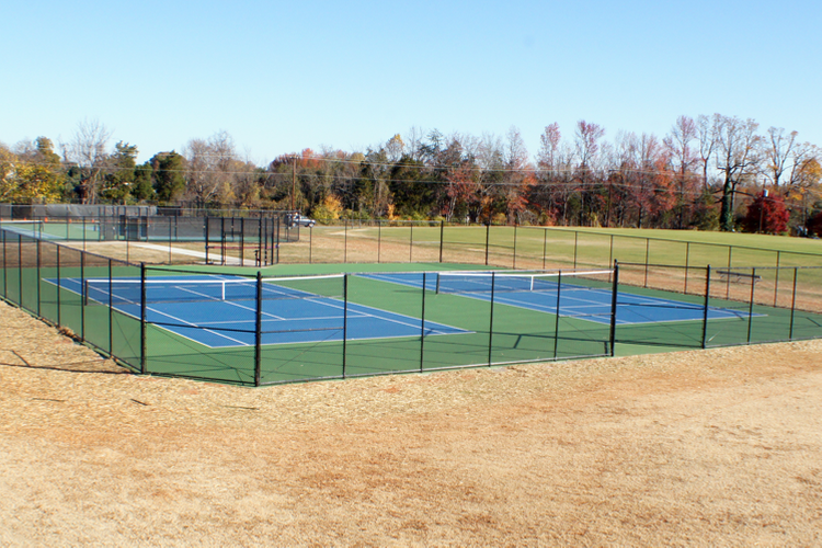 Arthur Bluethenthal Tennis Courts (John Bell photo, Touch A Life Photography)