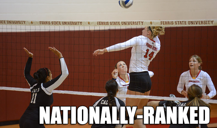Ferris State Volleyball Cracks The Nation's Top 25 After Impressive Start