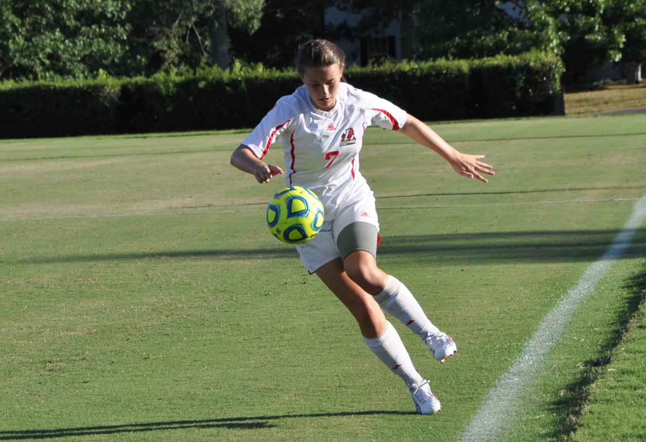 Women's Soccer: Panthers blank North Carolina Wesleyan 2-0