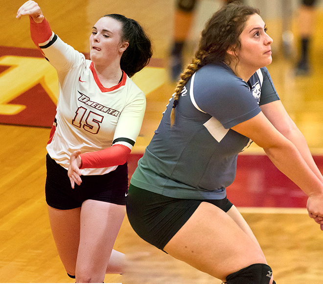Culeton and Magallon selected as SUNYAC Volleyball Athletes of the Week