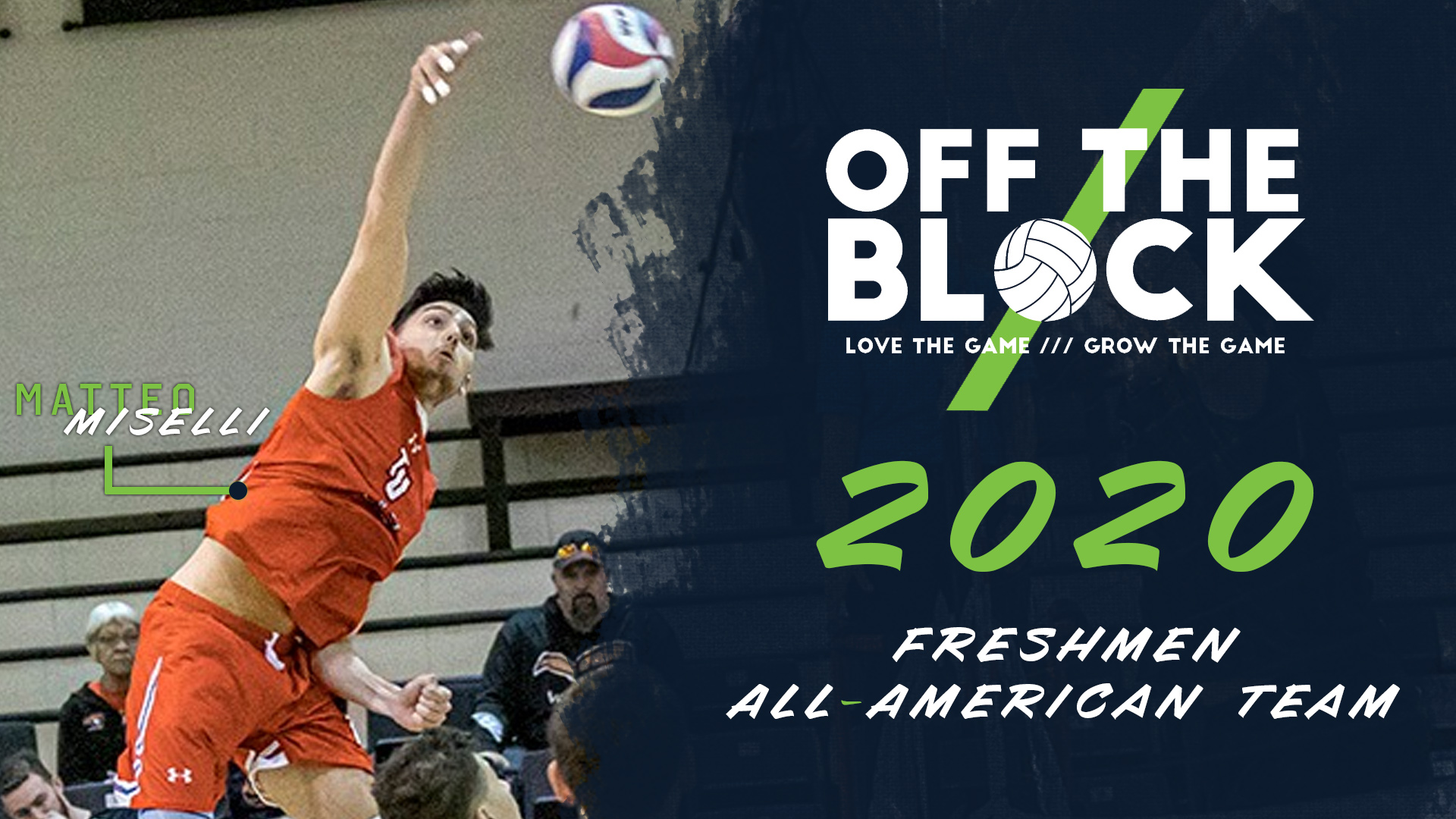 Miselli Selected to Off the Block Freshmen All-American Team