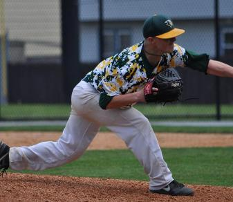 After a record-setting junior season at Felician, Jack Fowler became the first Golden Falcon to ever play in the Cape Cod Baseball League. (Ellen O'Brien)