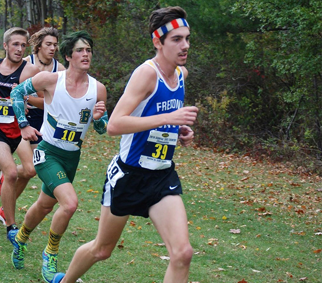 Fredonia takes Men's Cross Country Runner of the Week honors