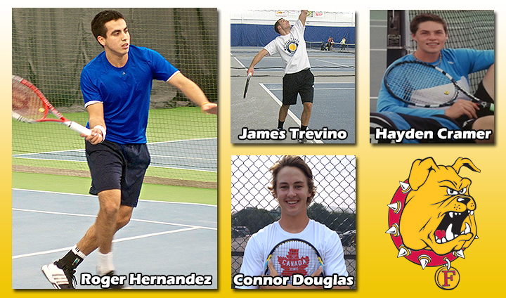 Ferris State Men's Tennis Bolsters Lineup With Four High-Caliber Additions