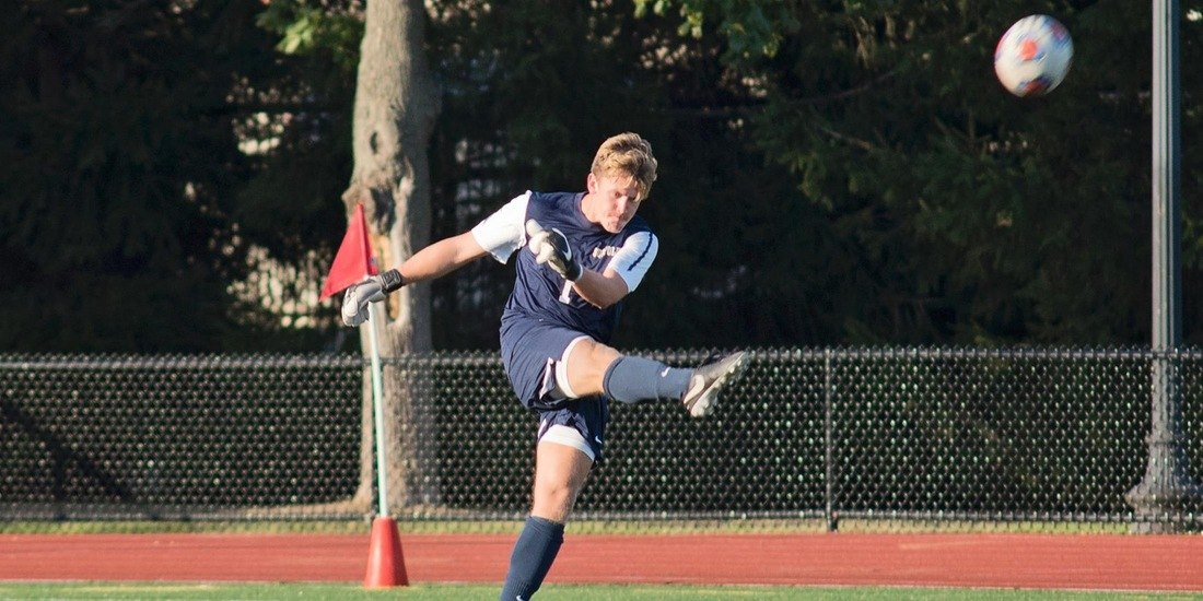 Men's Soccer Visits Emerson for Midweek Matchup