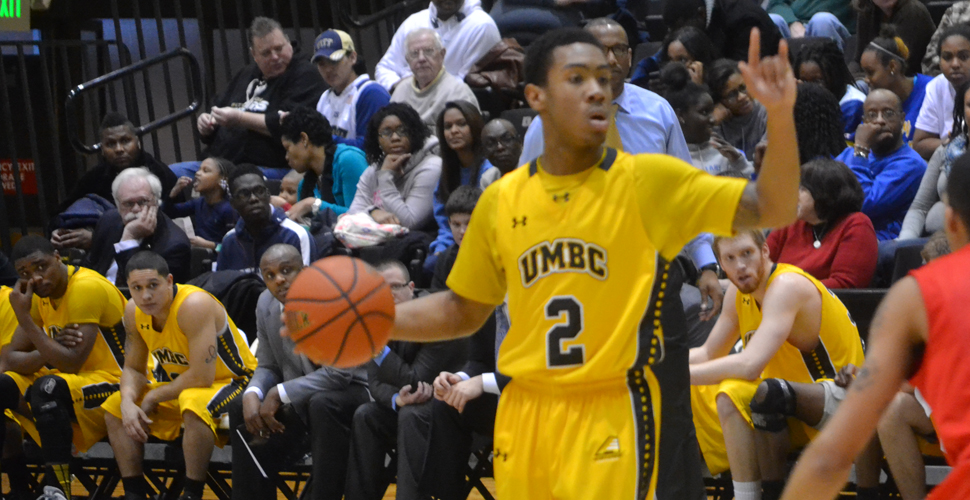 UMBC Jumps Out to Big 1st Half Lead, Holds off Hartford for 60-58 Home Win on Hall of Fame Day