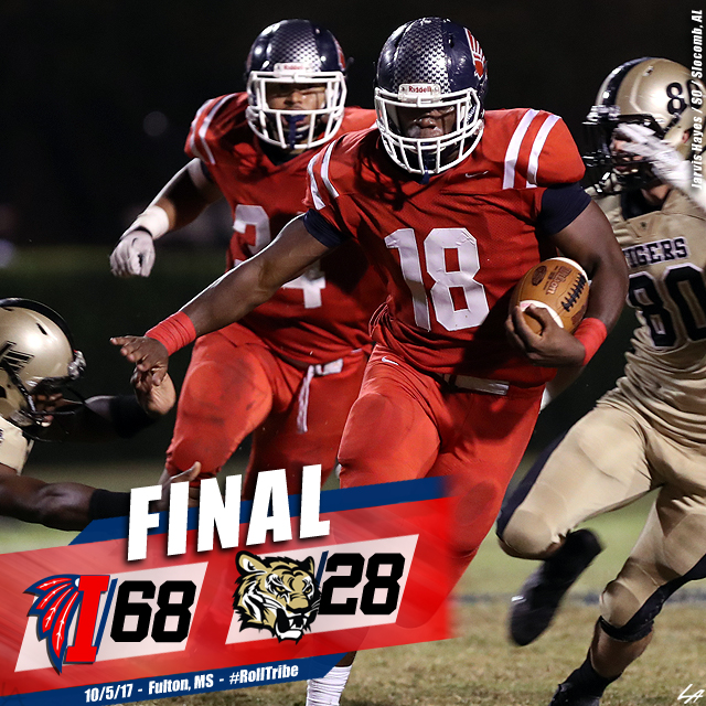 Indians leave no doubt against rival Northeast, 68-28