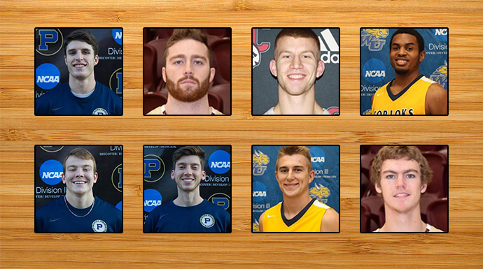Eight Represent SLIAC On NABC Honors Court