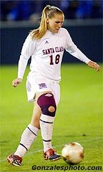 Women's Soccer Squad To Appear at SCU SoccerFest 2003