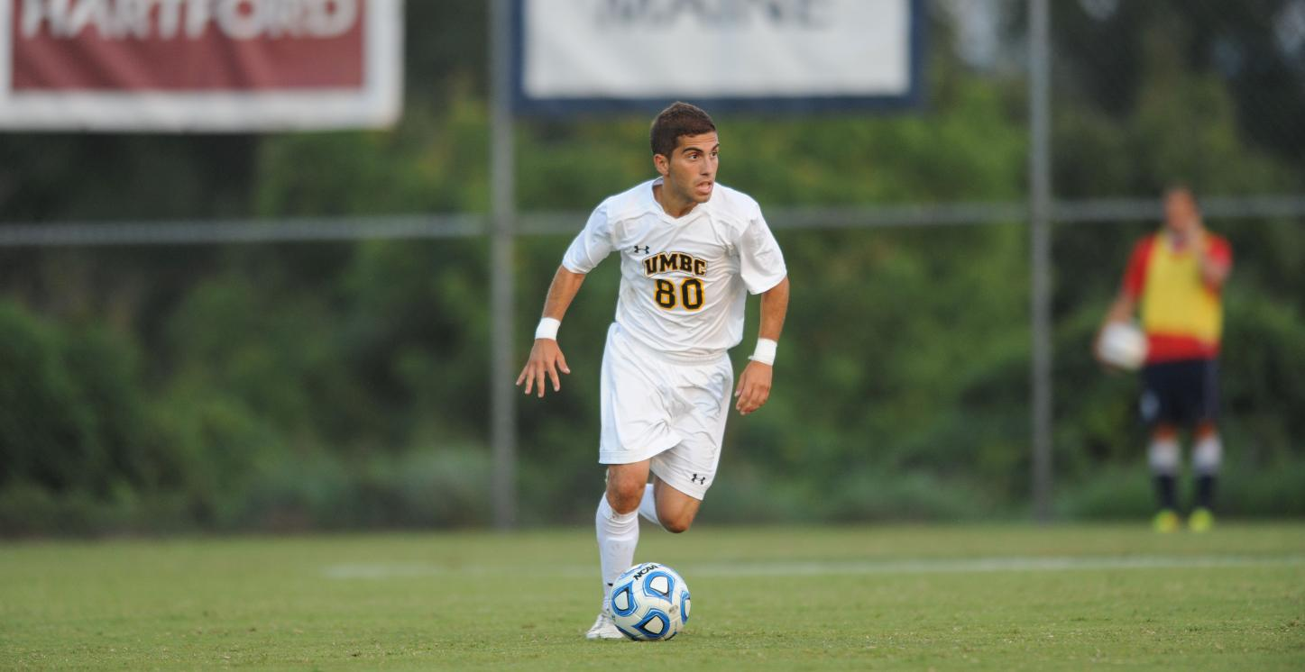 Caltabiano Nets a Pair as No. 15 UMBC Men's Soccer Blanks LIU, 4-0