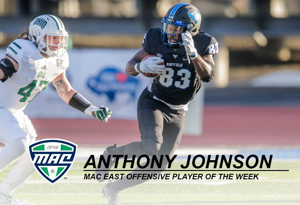 Johnson Named MAC East Offensive Player of the Week