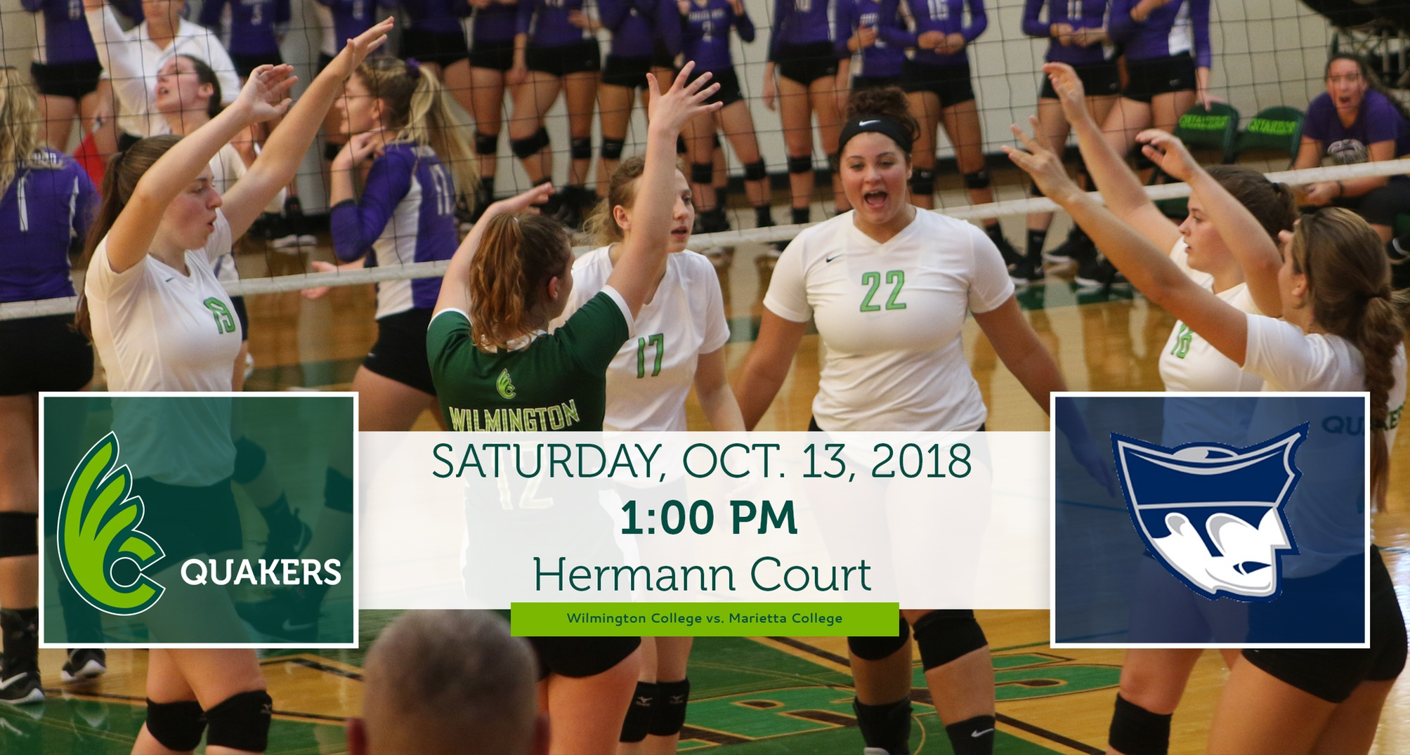 Volleyball Hosts Tri-Match Headlined by OAC Match with Marietta Saturday