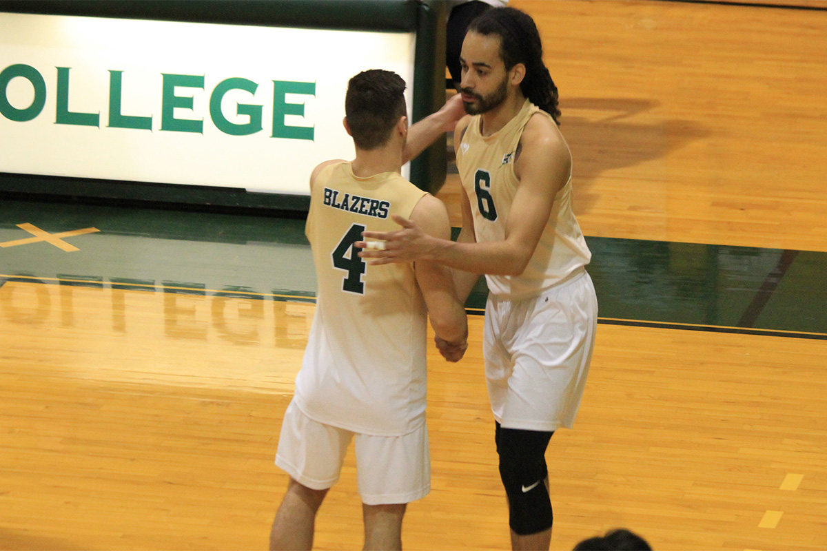 Elms Men's Volleyball Sweeps Dean To Move to 5-1 In NECC Play