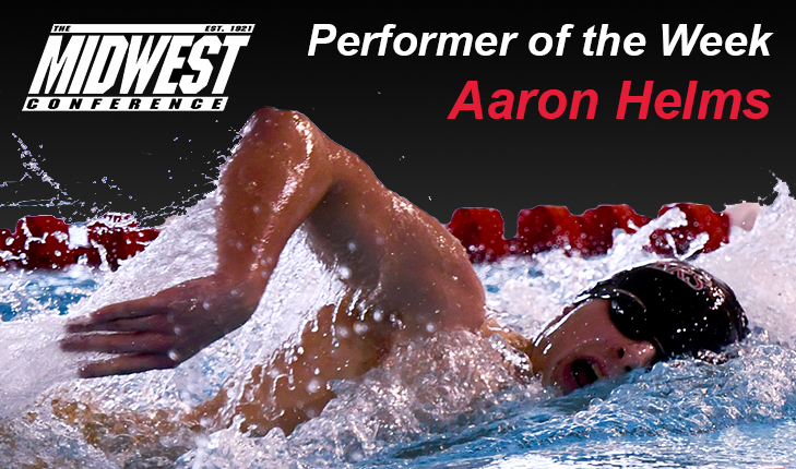 Aaron Helms Named MWC Performer of the Week