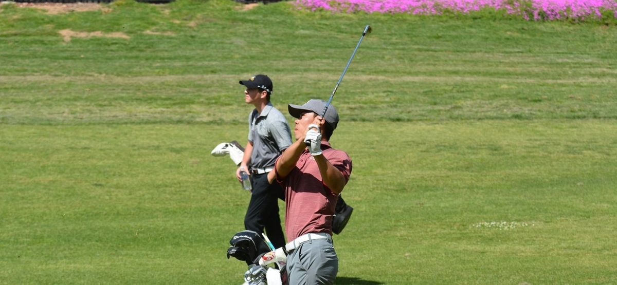 Sophomore Ken Kong is one shot off the lead after the first day of SCIAC #2