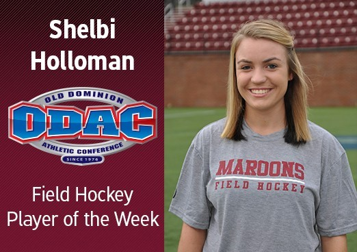 Shelbi Holloman Named ODAC Field Hockey Player of the Week