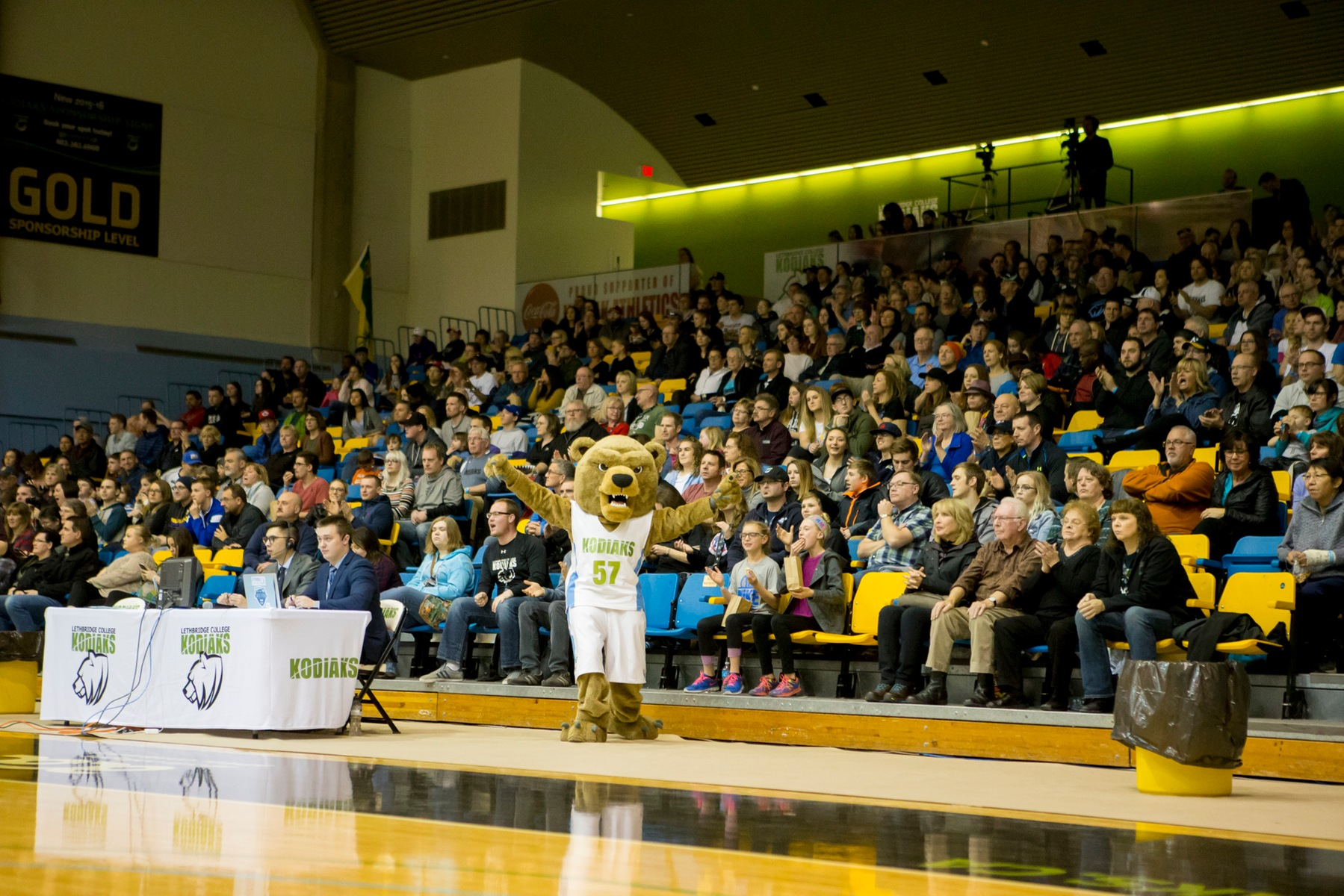 The Val Matteotti Gymnasium was packed for the Gold Medal Match of the 2016 ACAC Women's Basketball Championships.