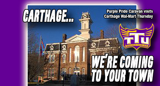 Smith County visit: Purple Pride Caravan stops in Carthage Thursday