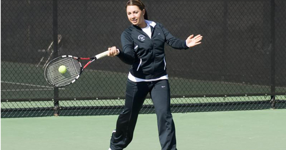 #22 Women's Tennis Washed Away 9-0 by #15 Hawai'i Pacific
