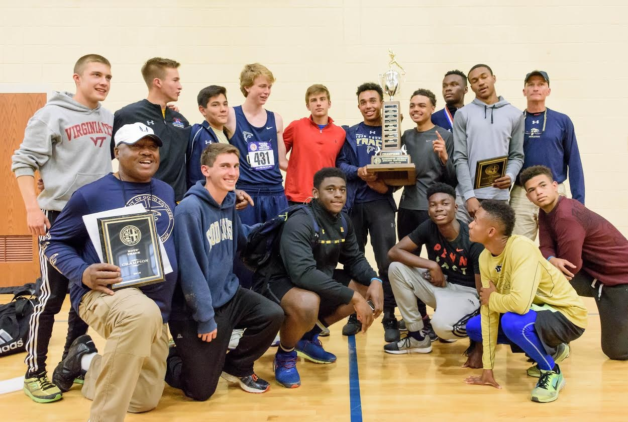 2016 Boy's Track & Field Champions Good Counsel
