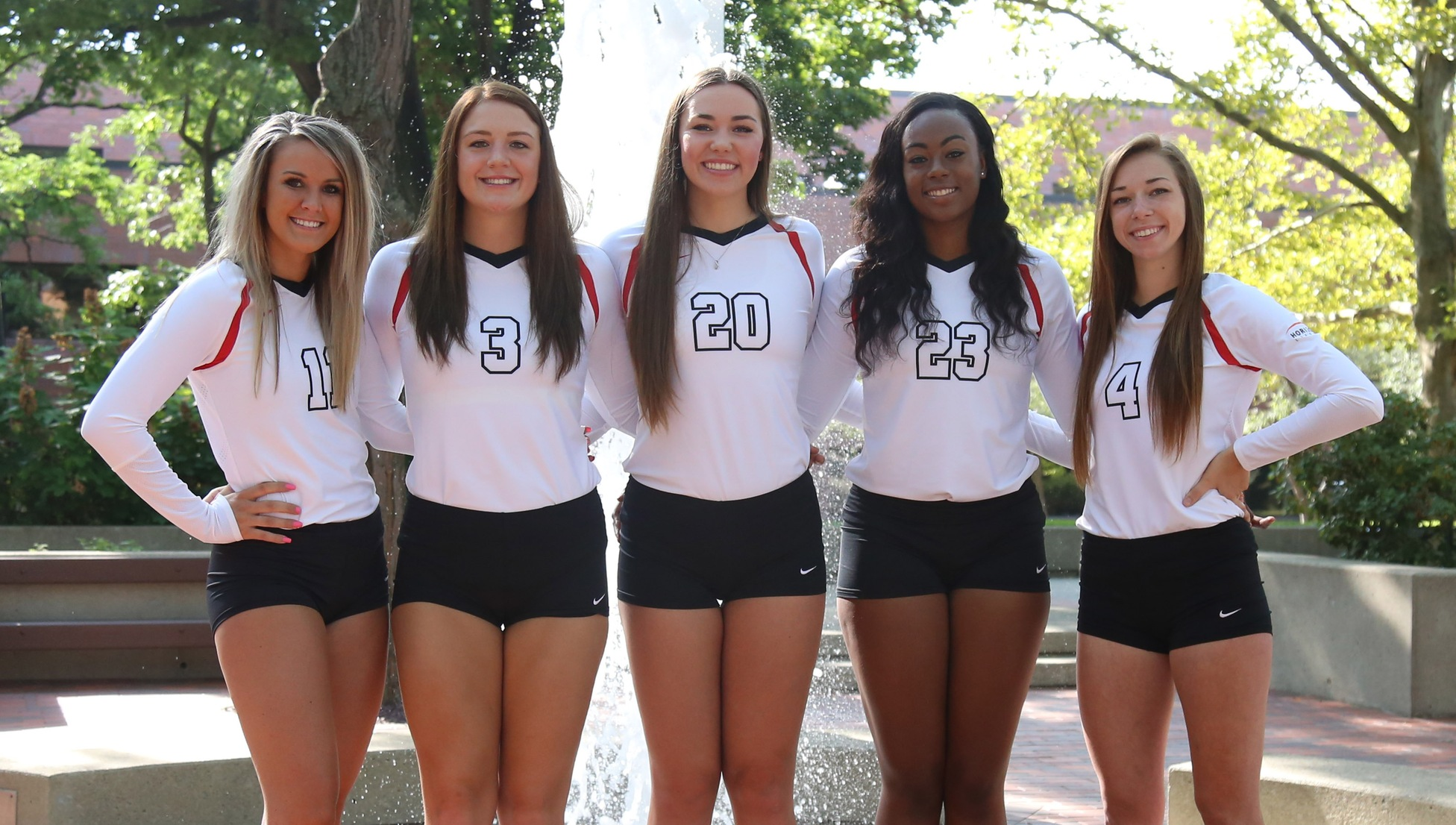 2017 Youngstown State Volleyball Senior Class