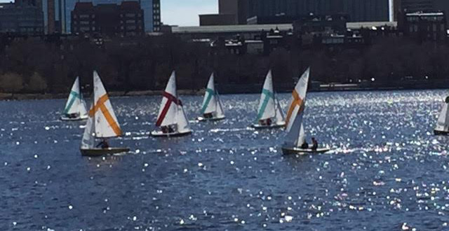 Dinghy Sailing Opens Spring Season With Solid Performance At Tufts Arctic Circle Invitational